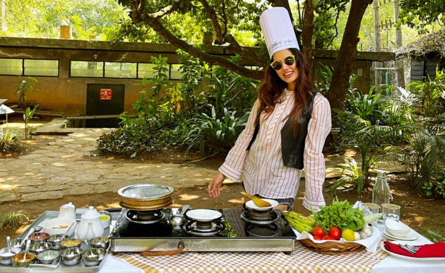 SONALI SEHGAL HAD A FUN VACAY IN KERALA, FULL OF FITNESS AND TRADITIONAL ESSENCE