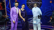 AMITABH BACHCHAN RECEIVES A SPECIAL PRESENT FROM GENELIA AND RITEISH DESHMUKH