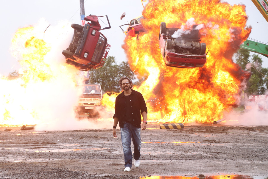 ROHIT SHETTY DESIGNS AN EXPLOSIVE BOLLYWOOD-STYLE HEIST STUNT FOR KHATRON KE KHILADI MADE IN INDIA G
