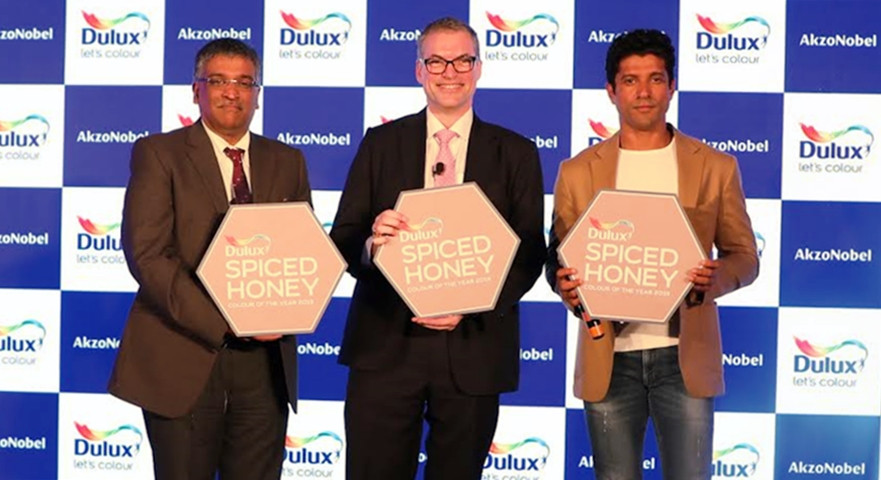 AKZONOBEL UNVEILS SPICED HONEY AS COLOUR OF THE YEAR 2019