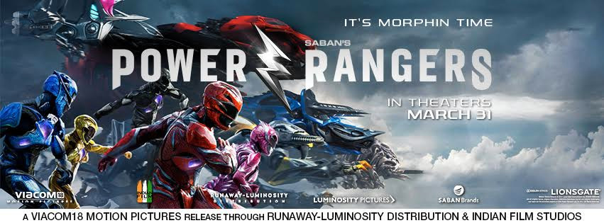 """After Scorching the US Box Office , Action Packed """"Power Rangers"""" arrive in Indian Cinemas"""