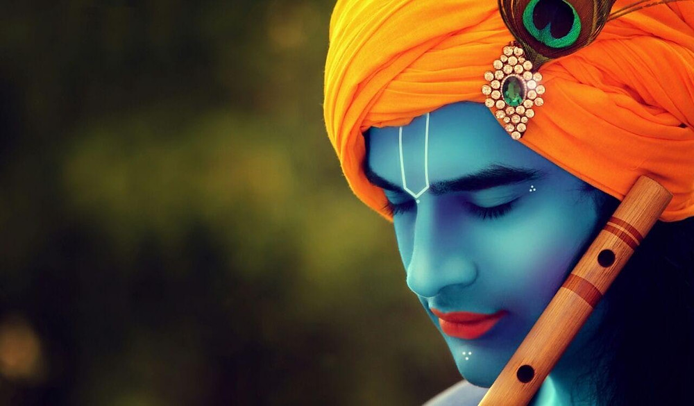 THE PORTRAIT THAT TURNED PARAS CHHABRA INTO LORD KRISHNA