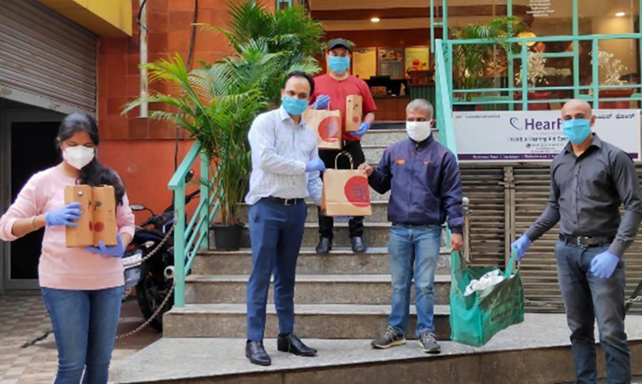 TATA CHA IS SERVING BREAKFAST TO THE ELDERLY IN BENGALURU