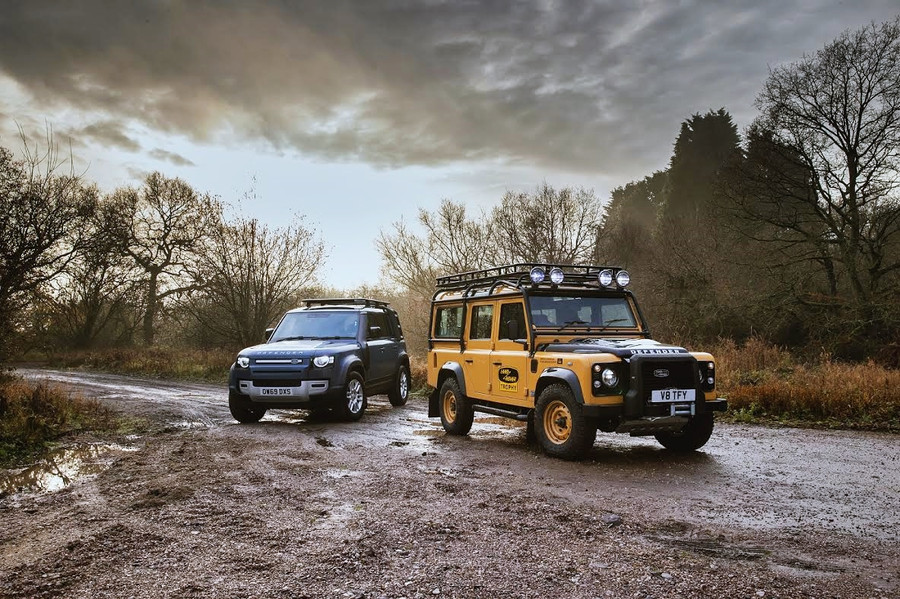 ADVENTURE-READY LAND ROVER DEFENDER WORKS V8 TROPHY CELEBRATES EXPEDITION LEGACY WITH UNIQUE EXP....