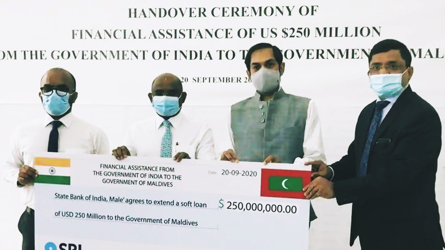 BHARAT EXTENDS USD 250 MILLION LOAN TO MALDIVES TO OVERCOME COVID-19 ECONOMIC IMPACT