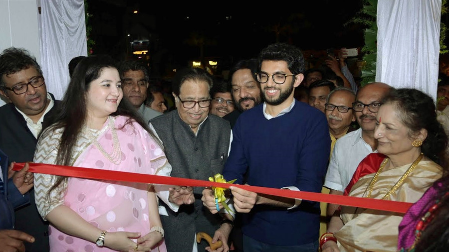 HRIDAYNATH MANGESHKAR'S SARJAA INAUGURATED BY AADITYA THACKERAY