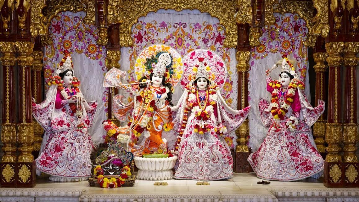 ON THE OCCASION OF SRI KRISHNA JANMASHTAMI, ISKCON BHAKTI KALA KSHETRA HOLDS A VIRTUAL RADHA KRISHNA