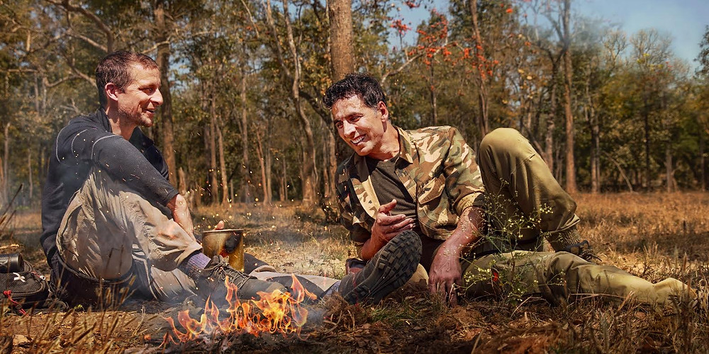 GET READY FOR UNLIMITED ADVENTURE WITH INTO THE WILD WITH BEAR GRYLLS AND AKSHAY KUMAR