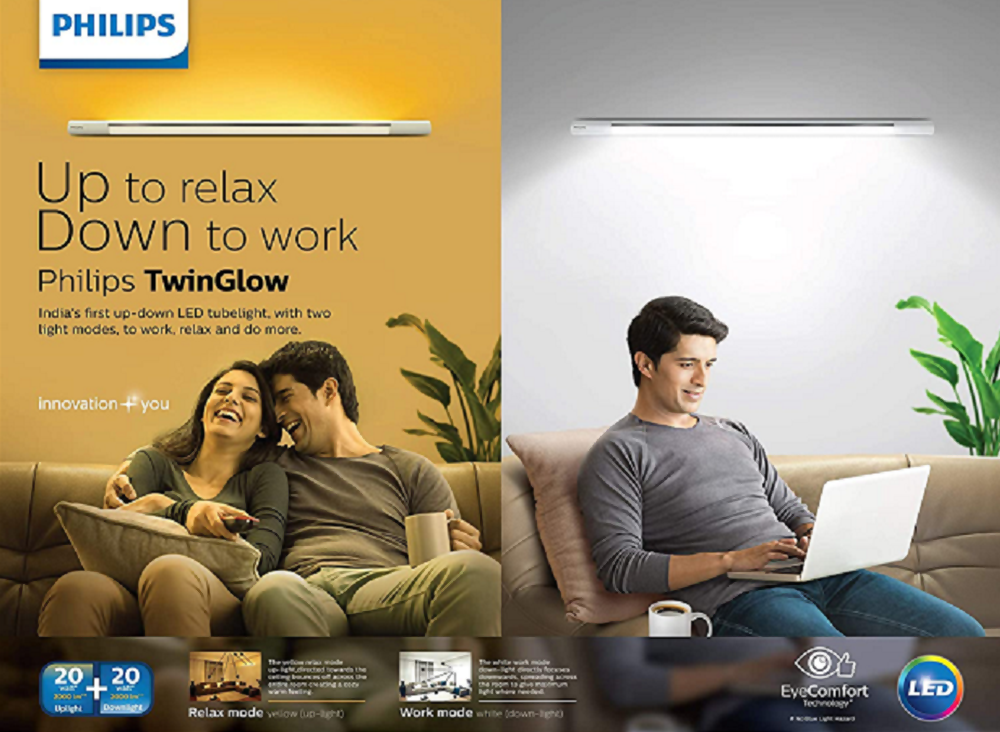 SIGNIFY INNOVATIONS INDIA LAUNCHES PHILIPS TWINGLOW LED TUBE- LIGHT- BREAKTHROUGH INNOVATION IN LIGHTING FOR WORK FROM HOME