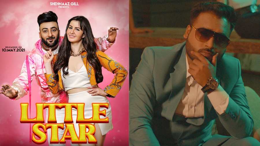 SHEHNAAZ GILL LAUNCHES THE POSTER, 'LITTLE STAR'
