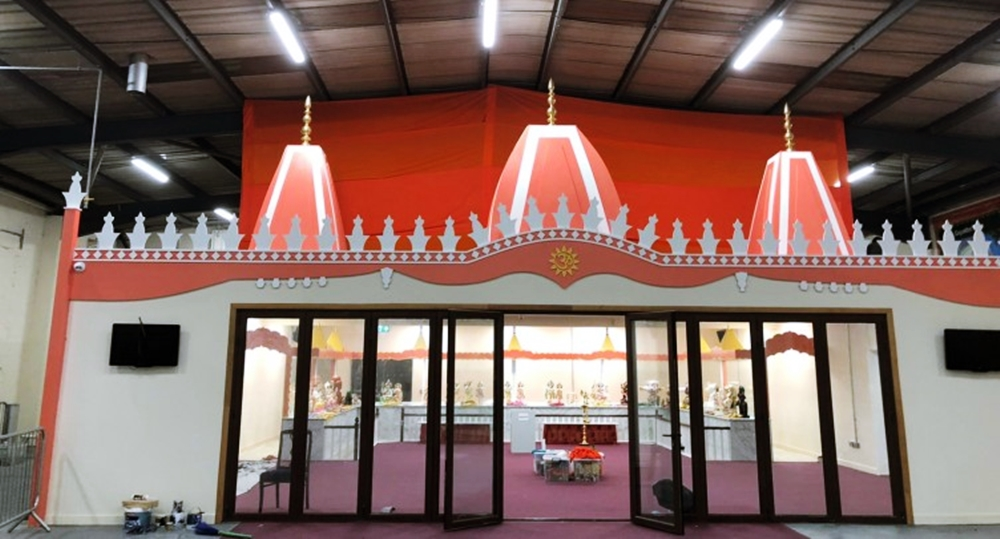 IRELAND INAUGURATES ITS FIRST-EVER TEMPLE