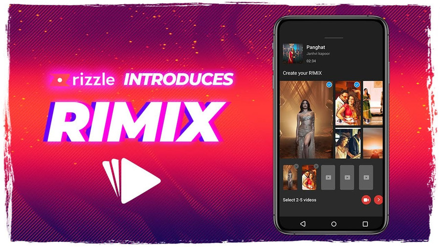 RIZZLE LAUNCHES A REVOLUTIONARY FEATURE : RIMIX