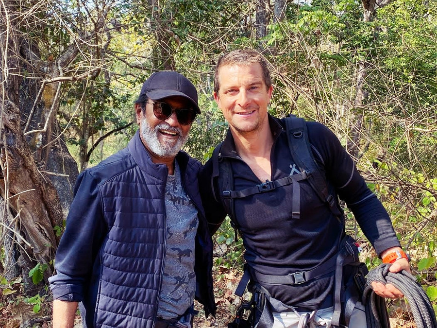 DISCOVERY CONTINUES ITS TRADITION TO FEATURE ICONIC INDIANS; SIGNS SUPERSTAR RAJINIKANTH FOR THE FIR