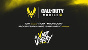 TEAM VITALITY ANNOUNCES CALL OF DUTY MOBILE ROSTER