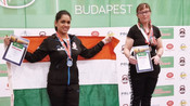 PAYAL KANODIA WIN SILVER MEDALS IN IUKL WORLD CHAMPIONSHIP, BUDAPEST