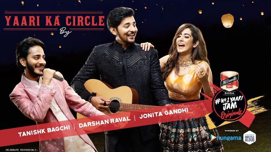"TANISHK BAGCHI, DARSHAN RAVAL & JONITA GANDHI LIGHT UP THIS FESTIVE SEASON LIKE NO OTHER WITH ""Y"