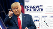 DONALD TRUMP ANNOUNCES LAUNCH OF NEW SOCIAL MEDIA SITE 'TRUTH SOCIAL'