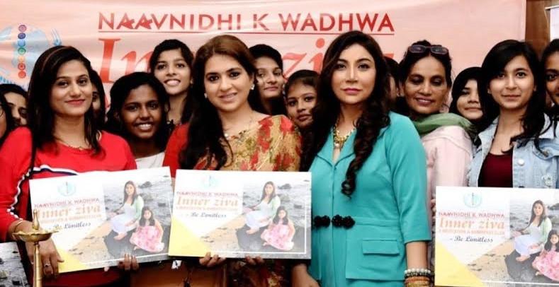 SHAINA NC AND MICKEY MEHTA LAUNCHES DR. NAAVNIDHI K WADHWA INNER DIVA - MEDITATION & BREAKFAST C