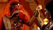 RANI AKA MAHIMA MAKWANA DISGUISES AS A MABADI WOMEN IN COLORS SHUBHAARAMBH