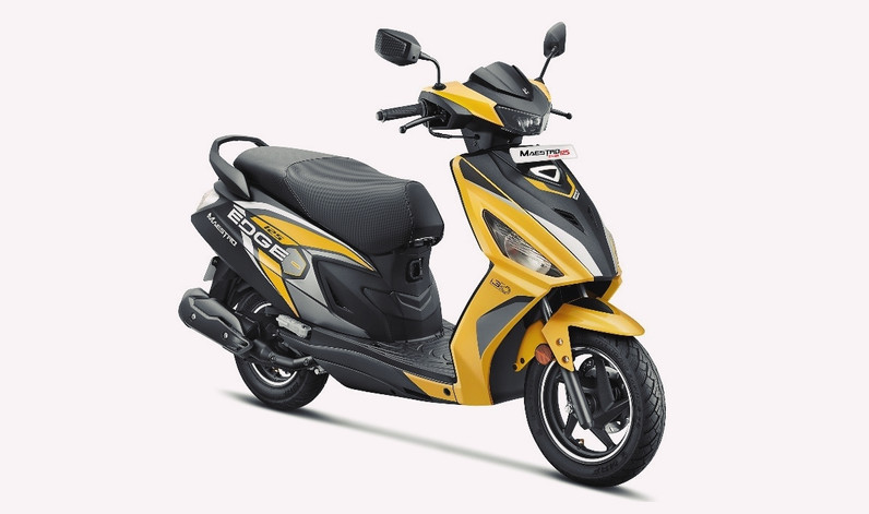 HERO MOTOCORP LAUNCHES THE NEW 'CONNECTED' MAESTRO EDGE 125 WITH FIRST-IN-SEGMENT FEATURES