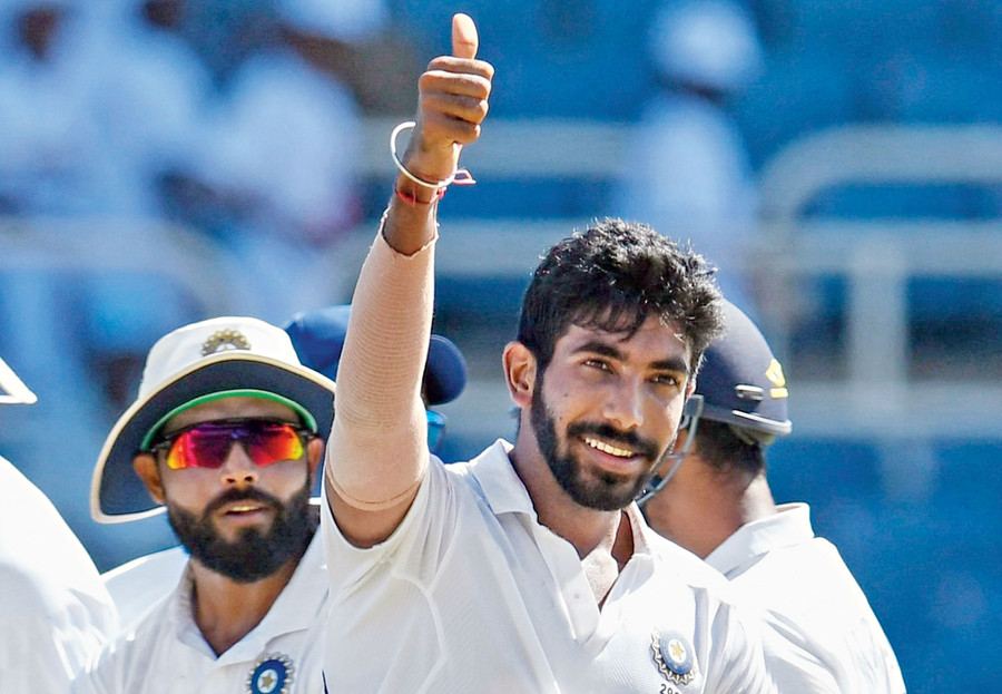 JASPRIT BUMRAH BECAME 3RD INDIAN TO GRAB HAT-TRICK IN TEST MATCH