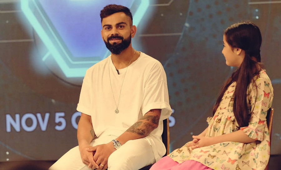 VIRAT KOHLI AND STAR INDIA INSPIRE YOUNG INDIA TO HAVE 'SUPER' DREAMS FROM NOV 5