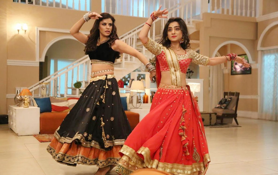 NEHA MARDA AND SAPNA THAKUR REHEARSE FOR MORE THAN 6 HOURS TO PERFORM A DANCE FACE-OFF