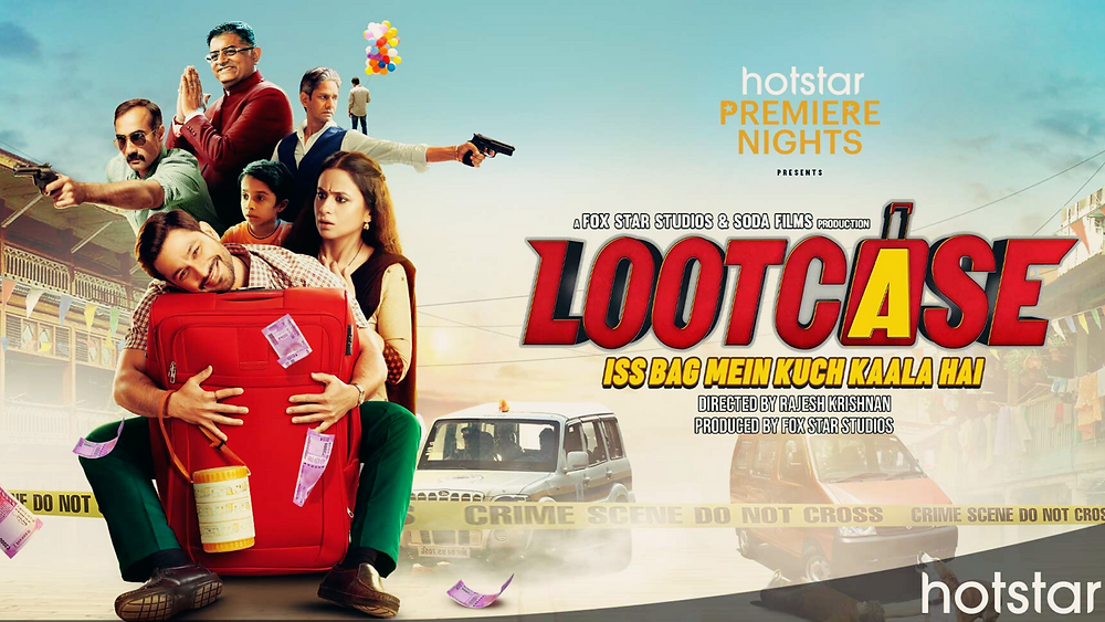 FANS FROM ACROSS INDIA MAKE LOOTCASE STARRING KUNAL KEMMU AND RASIKA DUGAL THE BIGGEST COMEDY MOVIE ON DISNEY+ HOTSTAR VIP