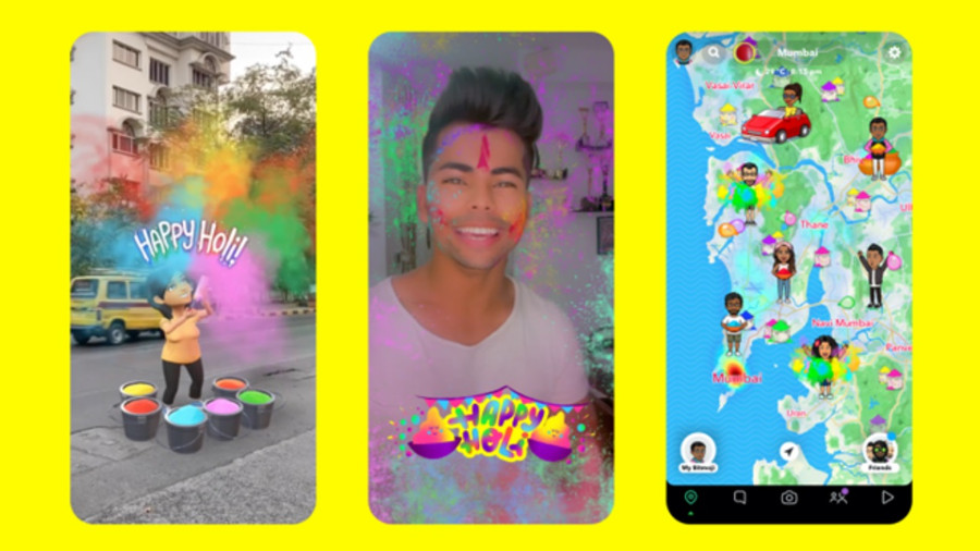 SNAPCHAT CELEBRATES FESTIVAL OF COLOURS WITH NEW HOLI THEMED CREATIVE TOOLS