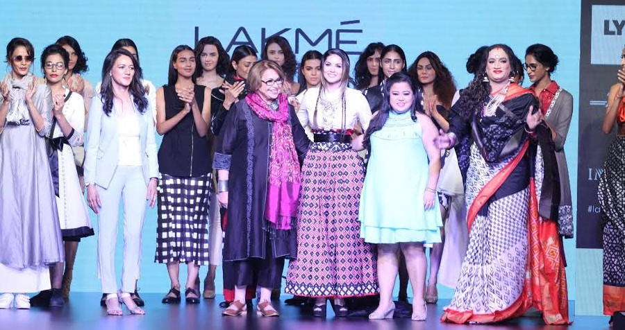 Sunny Leone walks the ramp for DoubtIsOut show at LFW Summer Resort 2016