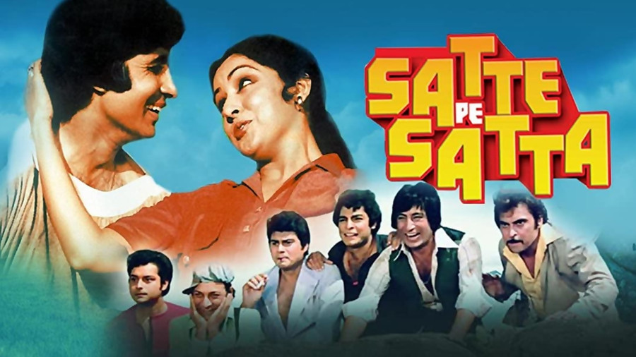 INDULGE IN A FUN-FILLED EVENING WITH BIG-B STARRER SATTE PE SATTA ON SONY MAX2