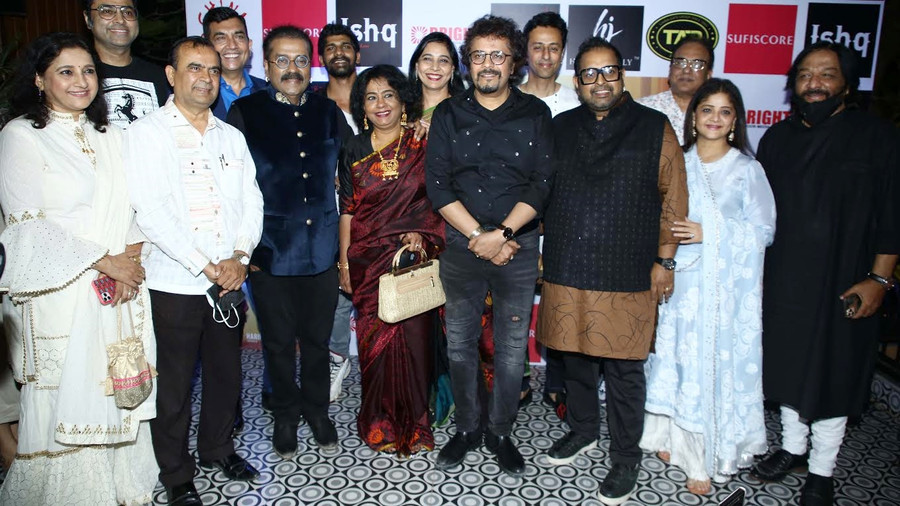 A STAR STUDDED LAUNCH FOR HARIHARAN & BICKRAM GHOSH'S ISHQ – SONGS OF LOVE!