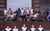 HERO MOTOSPORTS TEAM RALLY CONCLUDE THEIR IMPRESSIVE DAKAR 2021 CAMPAIGN WITH BOTH RIDERS IN TOP 15