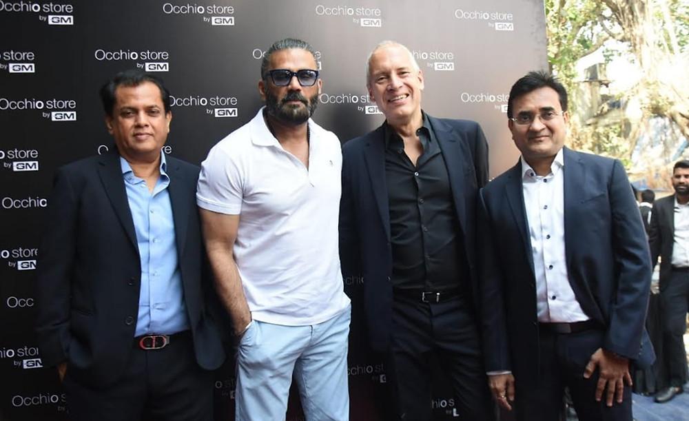 Sunil Shetty Launches The Flagship Showroom Occhio Store By GM In Mumbai