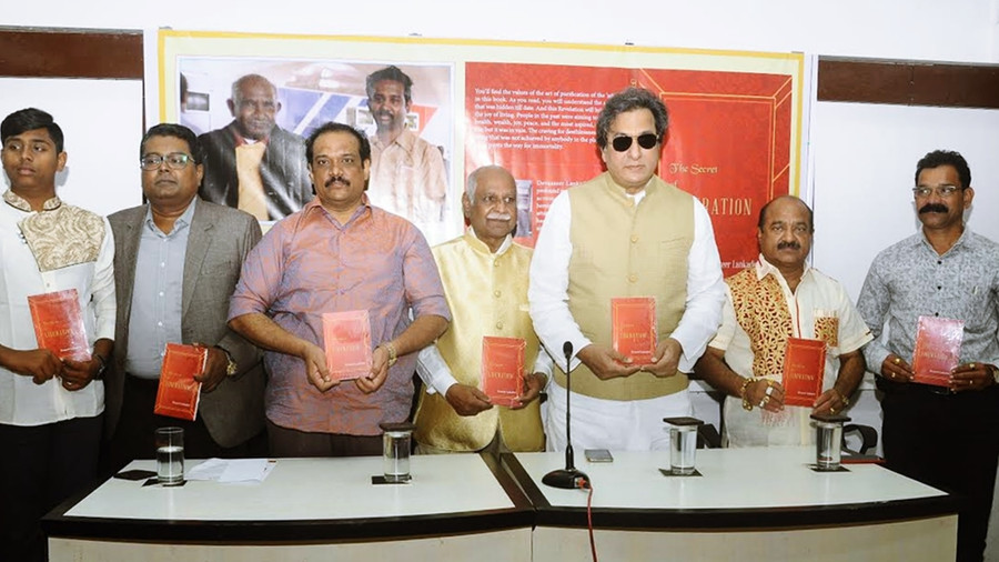 """CAN IMMORTALITY BE ACHIEVED IN THIS GENERATION? """"THE SECRET OF LIBERATION"""" BOOK LAUNCHED BY TALAT AZ"""