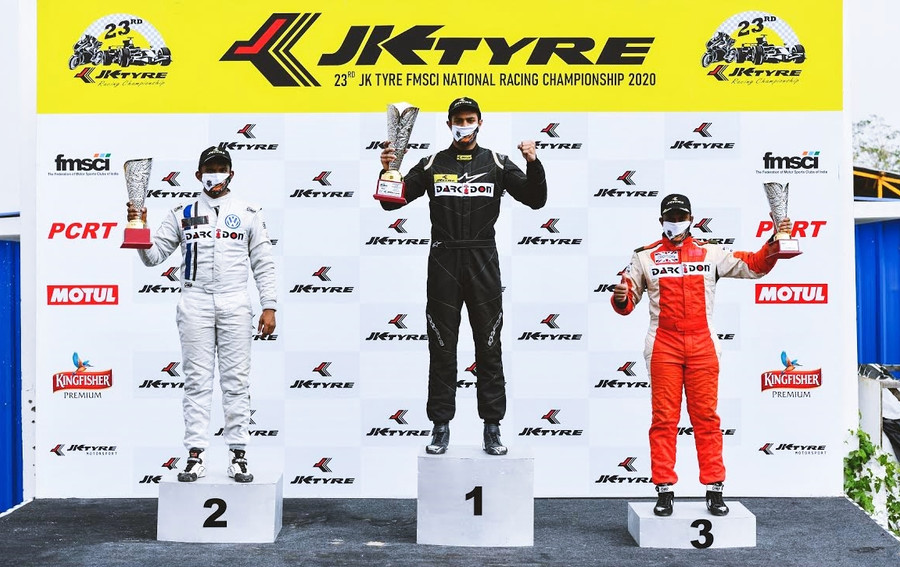 ASHWIN DATTA DOMINATE IN THE FINAL ROUND OF THE JK TYRE FMSCI NATIONAL RACING CHAMPIONSHIP