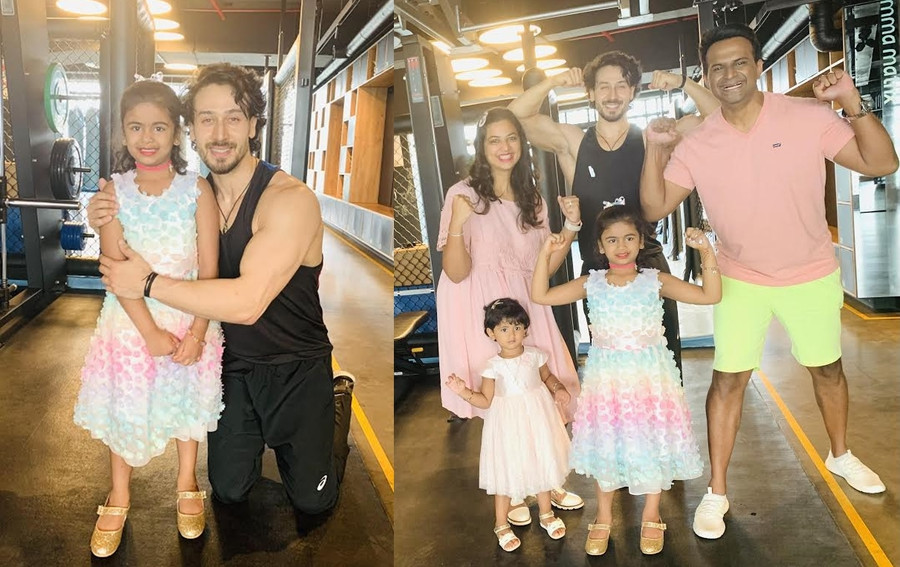 TIGER SHROFF KEEPS HIS PROMISE TO ADHIRA KANNAN!