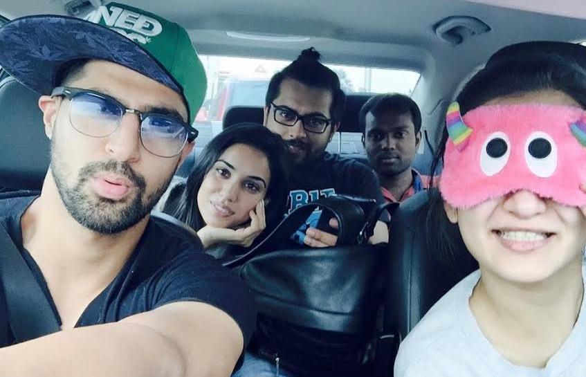 """Actor Tanuj Virwani """"Selfie Hero"""""""