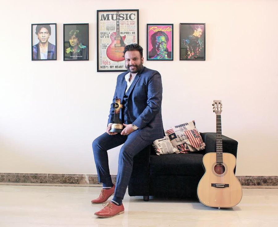 Ampliify Times Music Record Label wins the Talent Track startup of the year awards