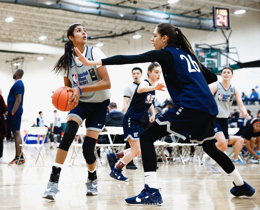 HARSIMRAN KAUR AIMS HIGH, TO PLAY IN THE TOP DIVISION OF THE NCAA