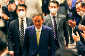YOSHIHIDE SUGA WINS PARTY VOTE FOR JAPAN PRIME MINISTER, TO SUCCEED SHINZO ABE