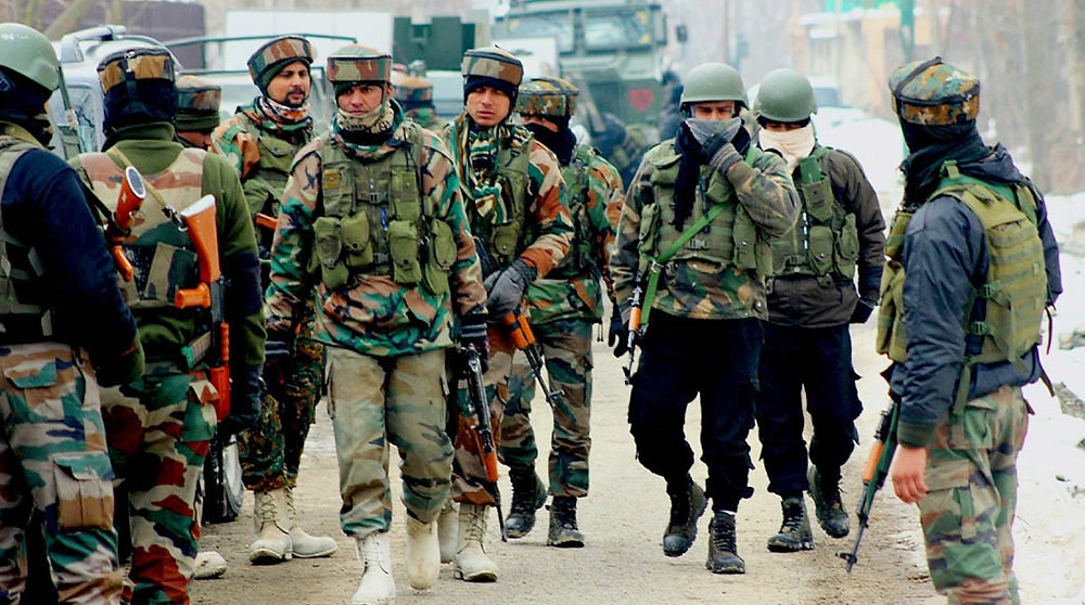 2 TERRORISTS GUNNED DOWN DURING ENCOUNTER IN BARAMULLA'S PATTAN AREA IN JAMMU AND KASHMIR