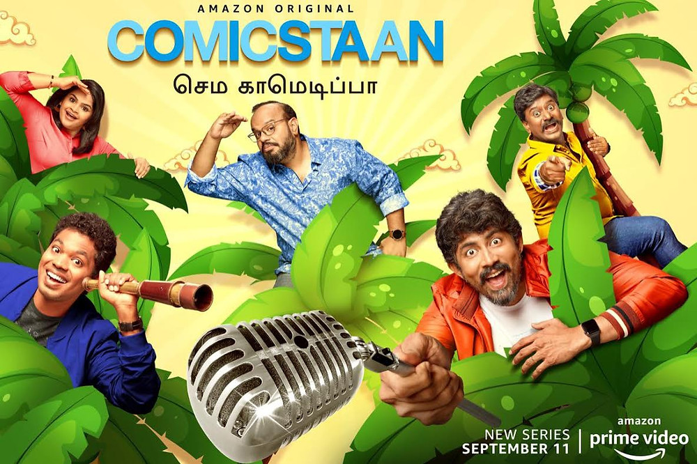 AMAZON PRIME VIDEO LAUNCHES COMICSTAAN SEMMA COMEDY PA, A TAMIL VERSION OF THE HUGELY SUCCESSFUL UNSCRIPTED COMEDY FRANCHISE 'COMICSTAAN'