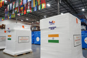 FEDEXDELIVERINGCRITICAL COVID-19 AID TO BHARAT