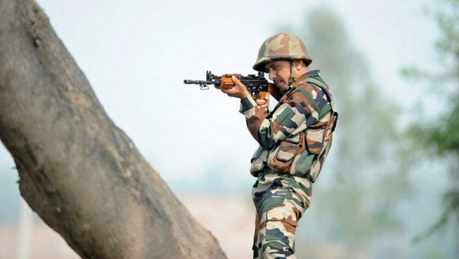 50 TERRORISTS WAITING AT LAUNCH PADS ACROSS LOC TO INFILTRATE INTO BHARAT