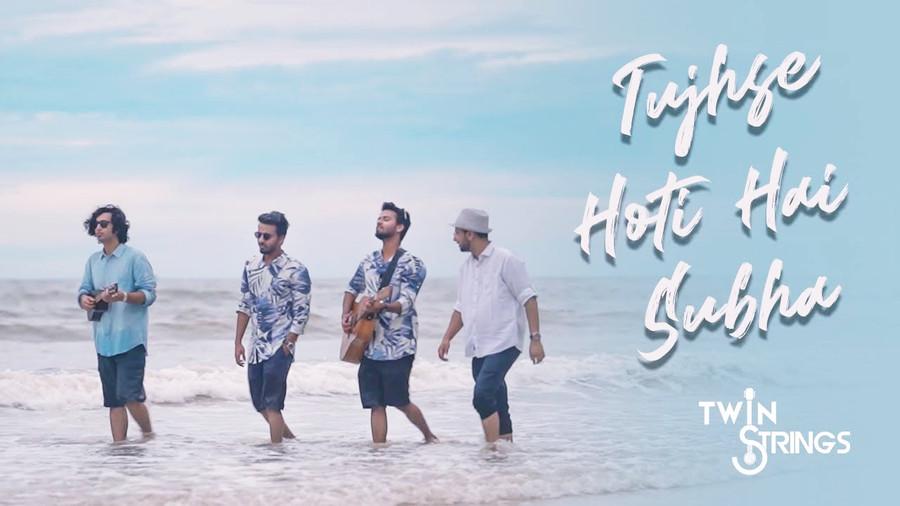 TWIN STRINGS LAUNCH THEIR LATEST ORIGINAL  'TUJHSE HOTI HAI SUBHA'