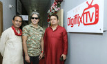 BOLLYWOOD CELEBRITIES GRACE THE INAUGURATION OF AN UPCOMING APP DIGIFLIX TV'S NEW OFFICE IN MUMBAI