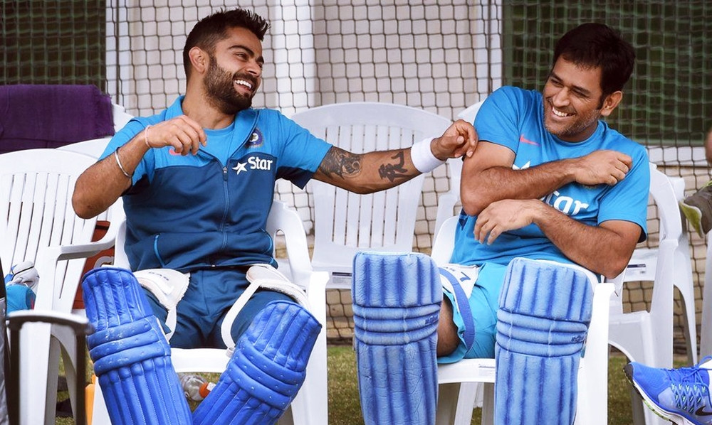 WILL ALWAYS BE GRATEFUL TO MS DHONI FOR REPOSING FAITH IN ME : VIRAT KOHLI