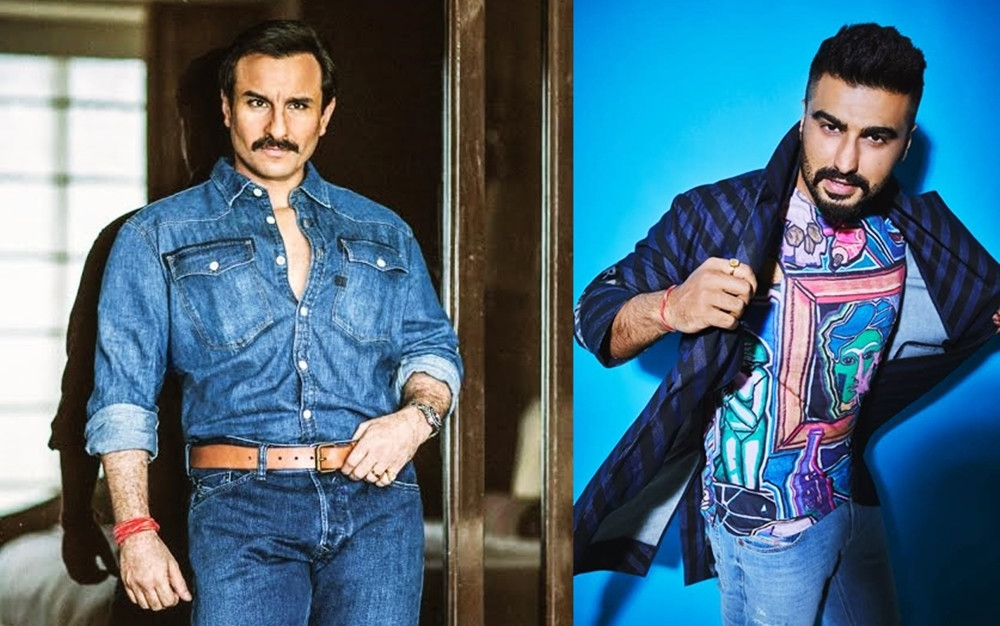 SAIF ALI KHAN AND ARJUN KAPOOR JOIN THE CAST OF SPOOKY ADVENTURE FILM 'BHOOT POLICE'