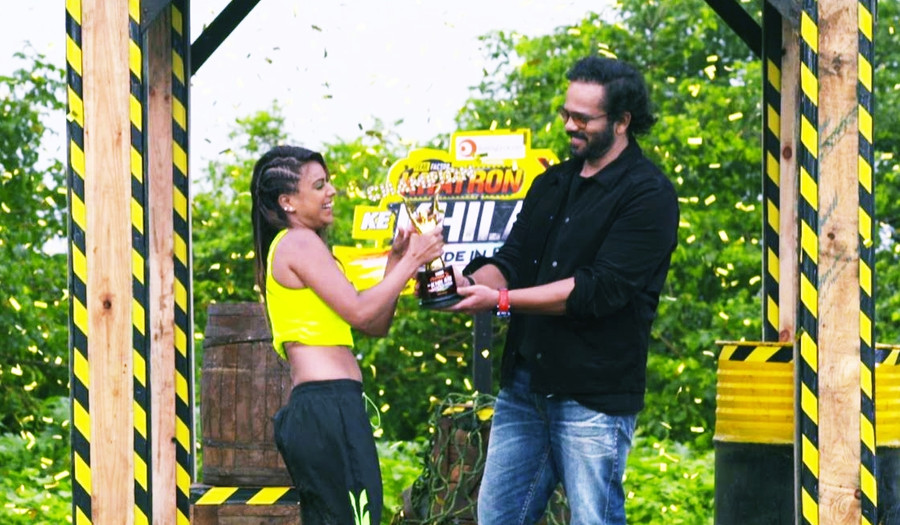 A FIGHTER, A SURVIVOR, A WINNER- NIA SHARMA LIFTS THE KHATRON KE KHILADI MADE IN INDIA TROPHY